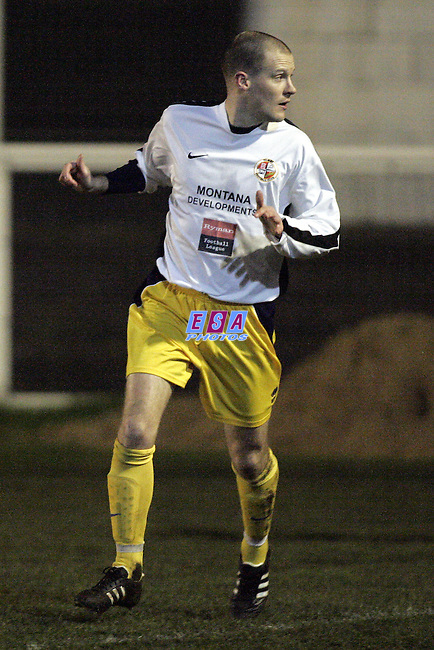 MAIDSTONNE UNITED v TILBURY<br /> Championship Manager Trophy Wednesday 3rd Feb 2010 VENUE Chadfields