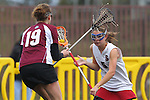 Santa Barbara, CA 02/19/11 - \m19\ and Anna Ponting (Stanford #5)  in action during the Stanford - Minnesota-Duluth game at the 2011 Santa Barbara Shootout.