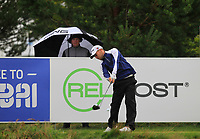 Gary King (ENG) on the 10th tee during Round 2 of the D+D Real Czech Masters at the Albatross Golf Resort, Prague, Czech Rep. 01/09/2017<br /> Picture: Golffile | Thos Caffrey<br /> <br /> <br /> All photo usage must carry mandatory copyright credit     (&copy; Golffile | Thos Caffrey)