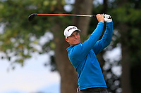 Calum Hill (SCO) on the 1st during Round 2 of the Aberdeen Standard Investments Scottish Open 2019 at The Renaissance Club, North Berwick, Scotland on Friday 12th July 2019.<br /> Picture:  Thos Caffrey / Golffile<br /> <br /> All photos usage must carry mandatory copyright credit (© Golffile | Thos Caffrey)