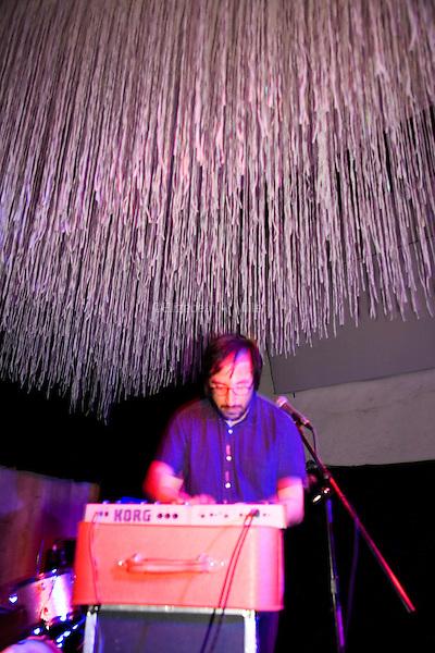Miyazaki play Cameo Gallery in Brooklyn, New York on July 20, 2013.
