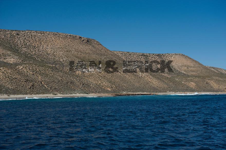Coastline on the way to Benders in Kalbarri, Western Australia.