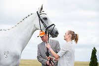 NZl-Sophie Alexander (SALTADOR) CCI1*J FIRST HORSE INSPECTION: 2015 NZL-Puhinui International Three Day Event - presented by Honda NZ (Thursday 10 December: CREDIT: Libby Law COPYRIGHT: LIBBY LAW PHOTOGRAPHY