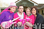 Preparing to celebrate women's Christmas with a party in aid of the Action Breast Cancer foundation to be held in Kilcummin GAA clubhouse on Saturday night are front row l-r: Orla Edmonds, Daniel O'Leary, Laura Fitzgerald and Niamh Dwyer