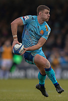 Exeter Chiefs' Ollie Devoto<br /> <br /> Photographer Bob Bradford/CameraSport<br /> <br /> European Rugby Heineken Champions Cup Pool 2 - Exeter Chiefs v Castres - Sunday 13th January 2019 - Sandy Park - Exeter<br /> <br /> World Copyright &copy; 2019 CameraSport. All rights reserved. 43 Linden Ave. Countesthorpe. Leicester. England. LE8 5PG - Tel: +44 (0) 116 277 4147 - admin@camerasport.com - www.camerasport.com