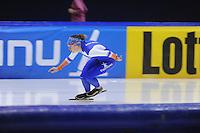 SCHAATSEN: HEERENVEEN: IJsstadion Thialf, 04-02-15, Training World Cup, Ireen Wüst, ©foto Martin de Jong