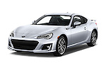 2017 Subaru BRZ Limited 2 Door Coupe Angular Front stock photos of front three quarter view