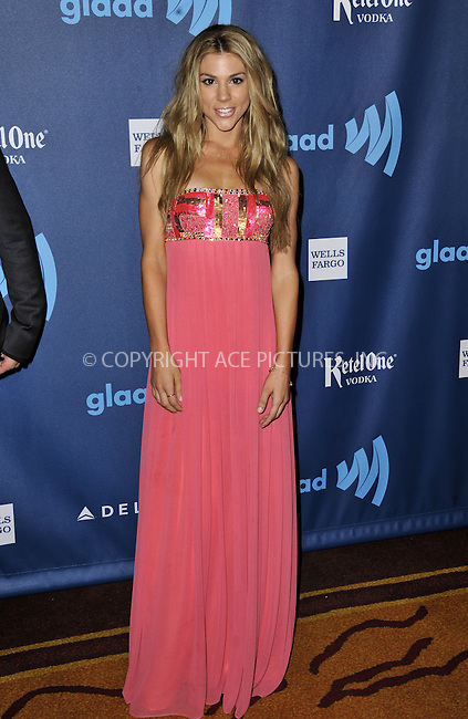 WWW.ACEPIXS.COM......April 20, 2013, Los Angeles, CA.....Kate Mansi arriving at the 24th Annual GLAAD Media Awards held at the JW Marriott Los Angeles at L.A. LIVE on April 20, 2013 in Los Angeles, California. ..........By Line: Peter West/ACE Pictures....ACE Pictures, Inc..Tel: 646 769 0430..Email: info@acepixs.com