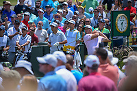 Jon Rahm (ESP) watches his tee shot on 1 during round 1 of The Players Championship, TPC Sawgrass, at Ponte Vedra, Florida, USA. 5/10/2018.<br /> Picture: Golffile | Ken Murray<br /> <br /> <br /> All photo usage must carry mandatory copyright credit (&copy; Golffile | Ken Murray)