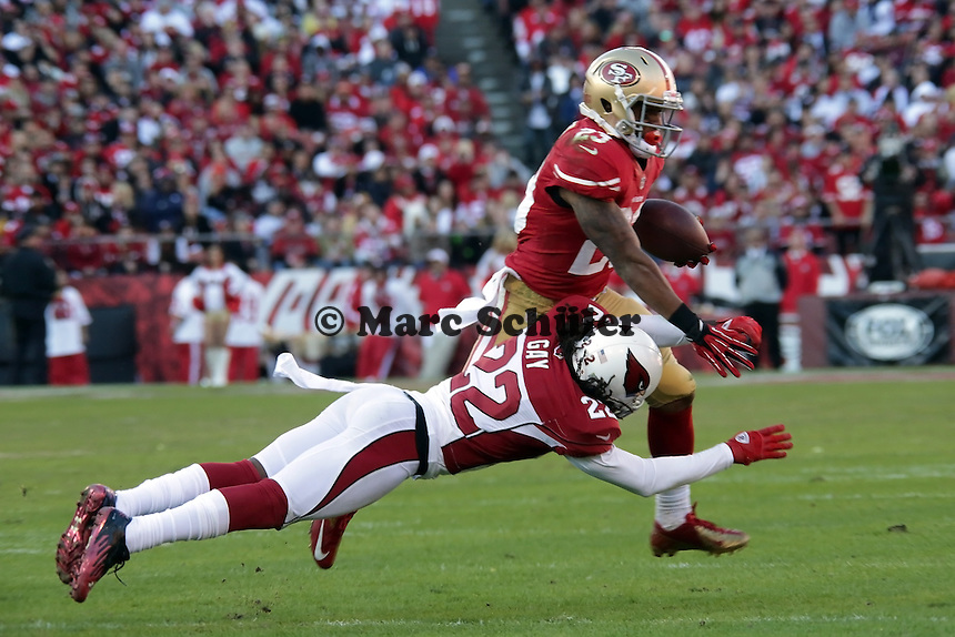 RB LaMichael James (49ers) gegen CB William Gay (Cardinals)