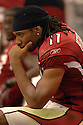 LARRY FITZGERALD, of the Arizona Cardinals, in action against the Kansas CIty Chiefs on October 8, 2006 in Phoenix, AZ...Chiefs win 23-20..David Durochik / SportPics.