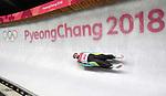 Nikita Kopyrenko (KAZ). Mens luge. Pyeongchang2018 winter Olympics. Alpensia sliding centre. Alpensia. Gangneung. Republic of Korea. 11/02/2018. ~ MANDATORY CREDIT Garry Bowden/SIPPA - NO UNAUTHORISED USE - +44 7837 394578