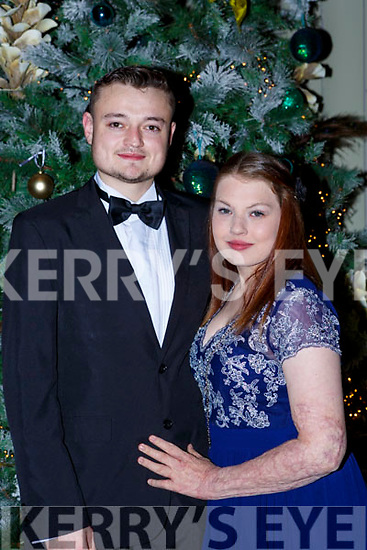 Kevin Looney Killarney and Antonia Gleeson Lixnaw at the Kerry Stars ball in the Malton Hotel on Saturday night