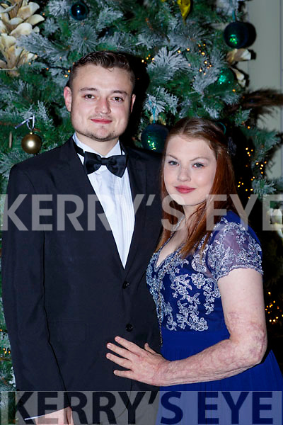 Kevin Looney Killarney and Antonia Gleeson Lixnaw at the Kerry Stars ball in the Malton Hotel on Saturday night