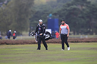 Andrew Johnston (ENG) on the 2nd fairway during Round 4 of the Sky Sports British Masters at Walton Heath Golf Club in Tadworth, Surrey, England on Sunday 14th Oct 2018.<br /> Picture:  Thos Caffrey | Golffile<br /> <br /> All photo usage must carry mandatory copyright credit (&copy; Golffile | Thos Caffrey)