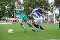VOETBAL: DE KNIPE: 16-07-2013, Oefenwedstrijd SC Heerenveen - Leuven, Einduitslag 2-1, Luciano Slagveer, ©foto Martin de Jong