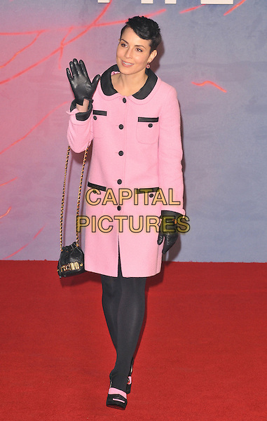 Noomi Rapace attends the &quot;The Revenant&quot; UK film premiere, Empire cinema, Leicester Square, London, UK, on Thursday 14 January 2016.<br /> CAP/CAN<br /> &copy;Can Nguyen/Capital Pictures