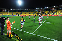 Action from the Mitre 10 Cup rugby match between Wellington Lions and Auckland at Westpac Stadium in Wellington, New Zealand on Thursday, 4 October 2018. Photo: Dave Lintott / lintottphoto.co.nz