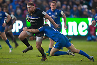 Bath Rugby's Henry Thomas in action during todays match<br /> <br /> Photographer Bob Bradford/CameraSport<br /> <br /> Heineken Champions Cup Pool 1 - Bath v Leinster - Saturday 8th December 2018 - The Recreation Ground - Bath<br /> <br /> World Copyright &copy; 2018 CameraSport. All rights reserved. 43 Linden Ave. Countesthorpe. Leicester. England. LE8 5PG - Tel: +44 (0) 116 277 4147 - admin@camerasport.com - www.camerasport.com