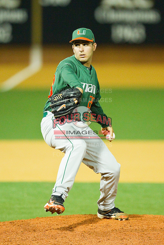 at Gene Hooks Field on March 18, 2011 in Winston-Salem, North Carolina.  Photo by Brian Westerholt / Four Seam Images
