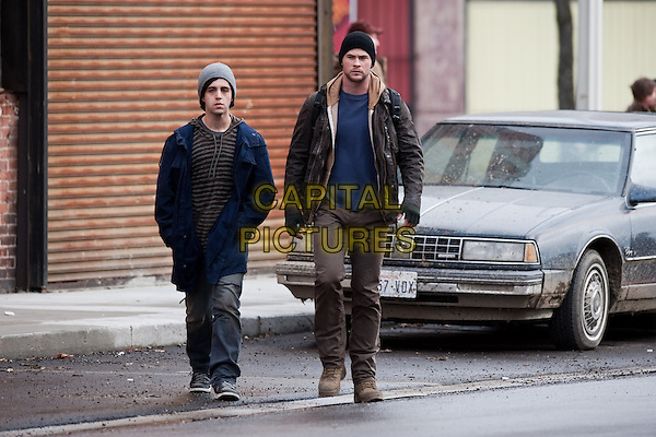Red Dawn (2012)<br /> Josh Peck, Chris Hemsworth<br /> *Filmstill - Editorial Use Only*<br /> CAP/KFS<br /> Image supplied by Capital Pictures