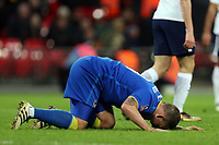 Cody McDonald of AFC Wimbledon rues a missed chance during Tottenham Hotspur vs AFC Wimbledon, Emirates FA Cup Football at Wembley Stadium on 7th January 2018