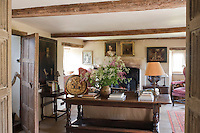 The history and Jacobean style have been preserved throughout the house without compromising comfort and homeliness