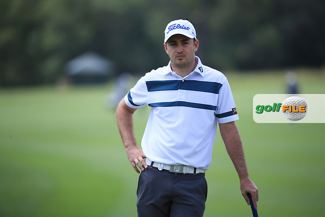 Daniel Brooks (ENG) calm and collected during Round Three of the 2016 BMW SA Open hosted by City of Ekurhuleni, played at the Glendower Golf Club, Gauteng, Johannesburg, South Africa.  09/01/2016. Picture: Golffile | David Lloyd<br /> <br /> All photos usage must carry mandatory copyright credit (&copy; Golffile | David Lloyd)