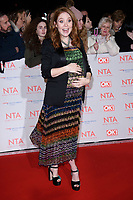 Angela Scanlan at the National Television Awards 2018 at the O2 Arena, Greenwich, London, UK. <br /> 23 January  2018<br /> Picture: Steve Vas/Featureflash/SilverHub 0208 004 5359 sales@silverhubmedia.com