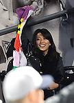 Mai Tanaka, MAY 14, 2014 - MLB : Mai Tanaka, wife of Masahiro Tanaka of the New York Yankees during the Major League Baseball game between the New York Mets and the New York Yankees at Citi Field in Flushing, New York, United States. (Photo by AFLO)