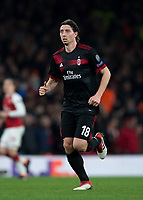 Riccardo Montolivo of AC Milan during the UEFA Europa League round of 16 2nd leg match between Arsenal and AC Milan at the Emirates Stadium, London, England on 15 March 2018. Photo by Vince  Mignott / PRiME Media Images.