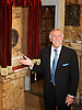 The London Palladium<br /> 100th Anniversary <br /> arrivals <br /> Argyll Street, London, Great Britain <br /> 12th October 2010 <br /> <br /> Plaque unveiling by Bruce Forsyth, <br /> <br /> <br /> Photograph by Elliott Franks