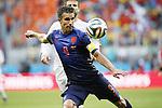 Robin van Persie (NED), JUN 13, 2014 - Football / Soccer : FIFA World Cup Brasil<br /> match between Spain and Netherlands at the Arena Fonte Nova in Salvador de Bahia, Brasil. (Photo by AFLO) [3604]