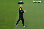 Borussia Dortmund coach Peter Bosz  during training session day before UEFA Champions League match between Real Madrid and Borussia Dortmund at Santiago Bernabeu Stadium in Madrid, Spain. December 05, 2017. (ALTERPHOTOS/Borja B.Hojas)
