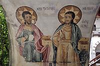 BG51472.JPG BULGARIA, BATCHKOVO MONASTERY, CHURCH OF SVETA-BOGORODITSA , 1604, frescoes