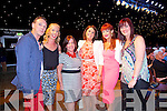 Kerry fleming Jacinta Hobbart, Mary Hobbart, Mary Fitzgerarld, Michelle Dempsey, Lisa Hobbart at the Austin Stacks Strictly come Dancing Finals at the Rose Dome on Saturday