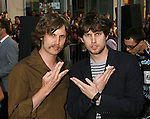 """HOLLYWOOD, CA. - April 30: Daniel Heder and Jon Heder arrive at the Los Angeles premiere of """"Star Trek"""" at the Grauman's Chinese Theater on April 30, 2009 in Hollywood, California.a"""