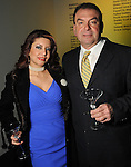 Parissa  Mojaher and Jesse Mussa at Martini Madness at the Center for Contemporary Craft Thursday Jan. 22,2015.(Dave Rossman For the Chronicle)