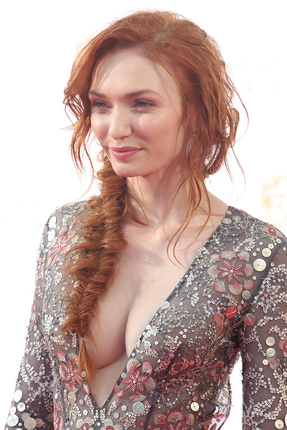 Eleanor Tomlinson<br />  arriving at the Bafta Tv awards 2017. Royal Festival Hall,London  <br /> ©Ash Knotek