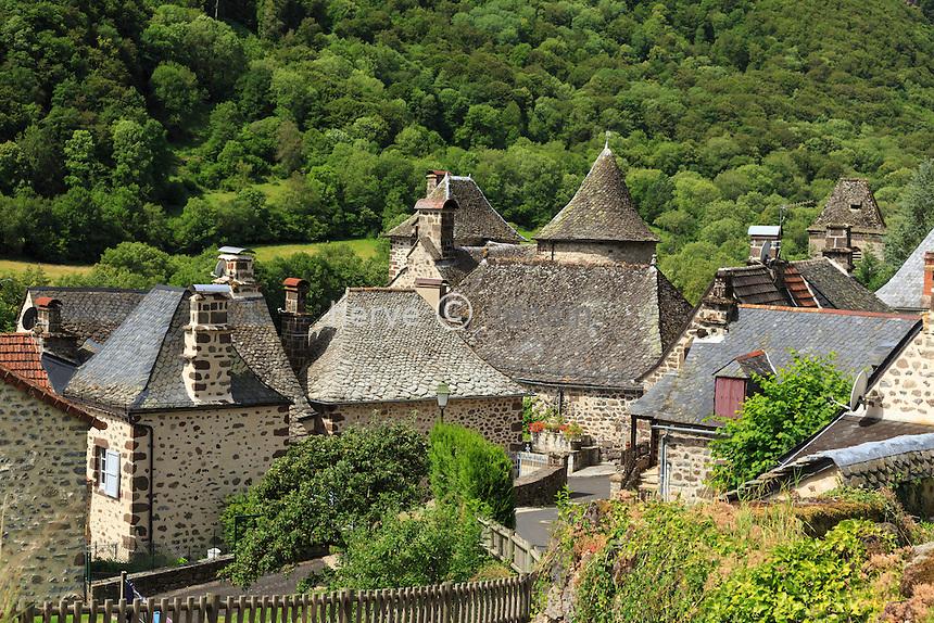 France, Cantal (15), vallée du Mars, Saint-Vincent-de-Salers //  // France, Cantal, Mars valley, Saint Vincent de Salers