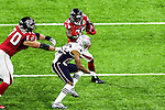 Atlanta Falcons running back Tevin Coleman (26) in action during Super Bowl LI at the NRG Stadium in Houston, Texas.
