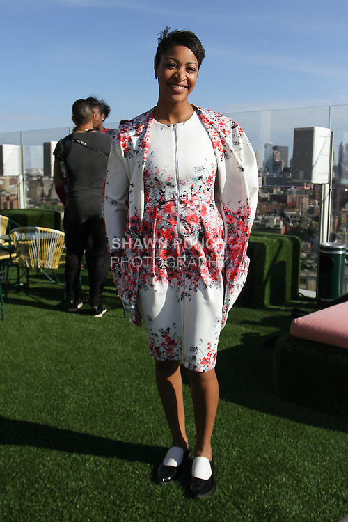 Fashion designer Terese Brown attends the Carlton Jones Resort 2017 runway show at Le Bain in The Standard Hotel in New York City, on June 8, 2017.