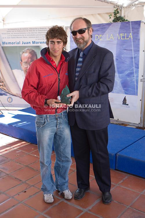 Juan Calvo- RCN Denia.Campeón Autonómico clase Europa. GRAN FIESTA DE LA VELA VALENCIANA 2009 - Federación de Vela de la Comunidad Valenciana. 7/2/2009 Real Club Náutico de Valencia