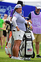 Christina Kim (USA) prepares to tee off on 10 during Friday's round 2 of the 2017 KPMG Women's PGA Championship, at Olympia Fields Country Club, Olympia Fields, Illinois. 6/30/2017.<br /> Picture: Golffile | Ken Murray<br /> <br /> <br /> All photo usage must carry mandatory copyright credit (&copy; Golffile | Ken Murray)