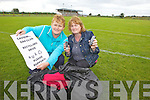 Mary Jo Murphy and Mary Barrett who are collecting old clothing and phones for recycling with funds to benefit Causeway GAA.