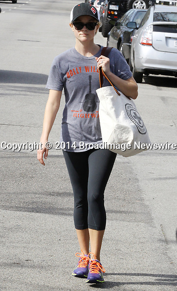 Pictured: Reese Witherspoon<br /> Mandatory Credit &copy; Ben Foster/Broadimage<br /> Reese Witherspoon leaving Yoga Classes in Brentwood<br /> <br /> 3/7/14, Brentwood, California, United States of America<br /> <br /> Broadimage Newswire<br /> Los Angeles 1+  (310) 301-1027<br /> New York      1+  (646) 827-9134<br /> sales@broadimage.com<br /> http://www.broadimage.com<br /> <br /> <br /> Pictured: Reese Witherspoon<br /> Mandatory Credit &copy; Ben Foster/Broadimage<br /> Reese Witherspoon leaving Yoga Classes in Brentwood<br /> <br /> 3/7/14, Brentwood, California, United States of America<br /> Reference: 030714_HDLA_BDG_024<br /> <br /> Broadimage Newswire<br /> Los Angeles 1+  (310) 301-1027<br /> New York      1+  (646) 827-9134<br /> sales@broadimage.com<br /> http://www.broadimage.com