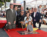 Jeff Goldblum, Emilie Livingston, River Goldblum, Charlie Goldblum, Leron Gubler, Norm Eisen, Ed Begley Jr. &amp; Mitch O'Farrell  at the Hollywood Walk of Fame Star Ceremony honoring actor Jeff Goldblum, Los Angeles, USA 14 June 2018<br /> Picture: Paul Smith/Featureflash/SilverHub 0208 004 5359 sales@silverhubmedia.com