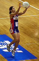Mystics wing attack Keshia Grant during the ANZ Netball Championship match between the Central Pulse and Northern Mystics, TSB Bank Arena, Wellington, New Zealand on Monday, 4 May 2009. Photo: Dave Lintott / lintottphoto.co.nz