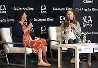 LOS ANGELES, CA -APRIL 14: Chelsea Clinton, Mary McNamara, at 2019 Los Angeles Times Festival Of Books Day 2 at University of Southern California in Los Angeles, California on April 14, 2019.<br /> CAP/MPI/FS<br /> ©FS/MPI/Capital Pictures