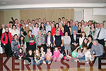 DOUBLE CELEBRATIONS: Eileen & John Lynch, Ballyseedy, seated centre, having a wonderful time with family and friends at their joint 70th birthday party held in The Manor West Hotel, Tralee on Saturday night.   Copyright Kerry's Eye 2008